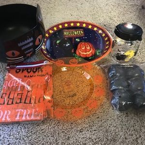 Bundle Halloween Plastic Party Serveware